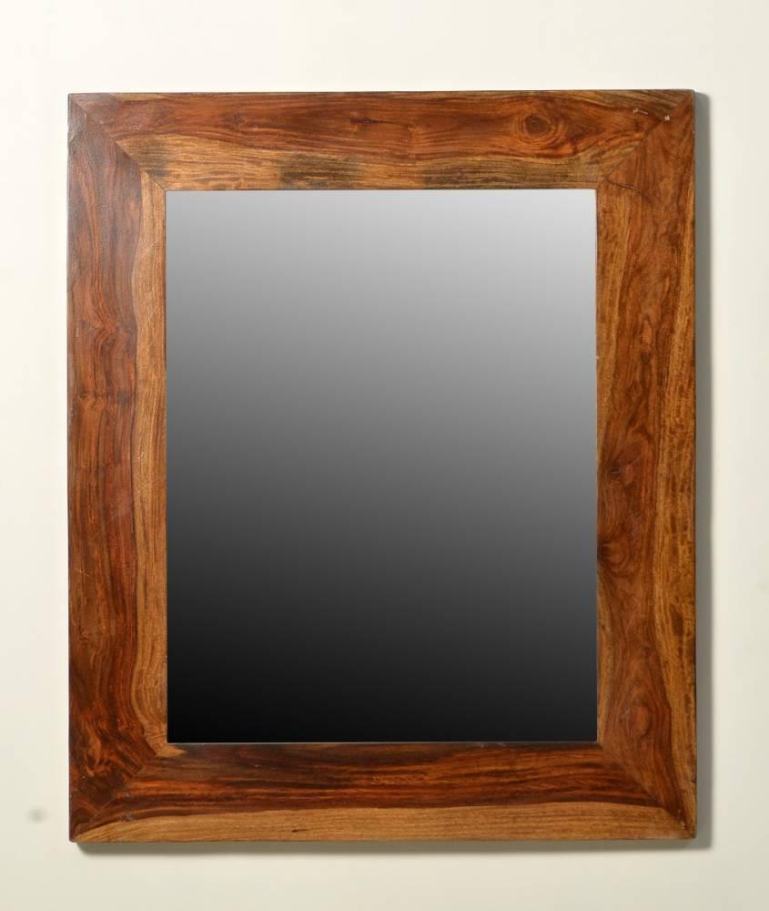 Zrkadlo SIXTO 50x70 cm hnedá