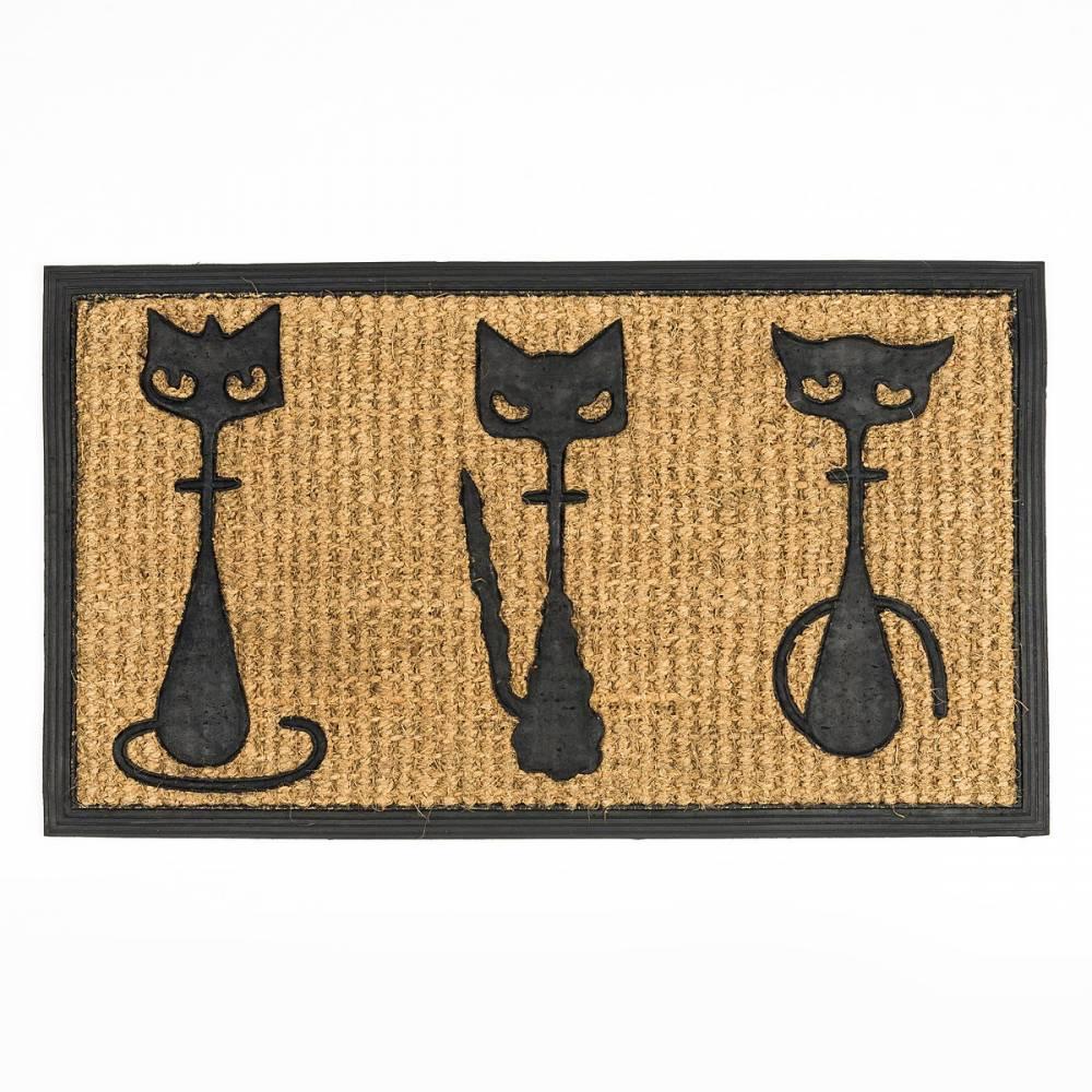 BO-MA Trading Rohožka slabá 3 mačky, 40 x 70 cm