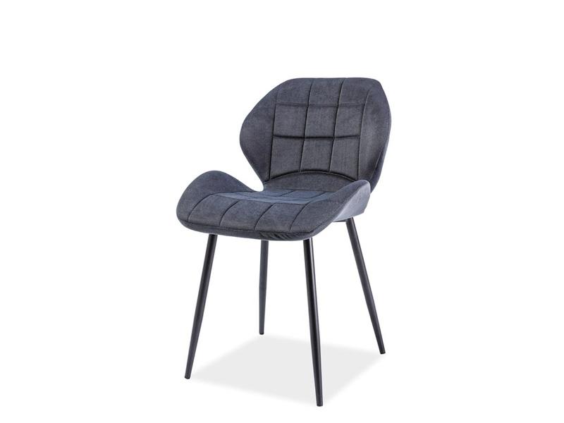 HALLS jedálenská stolička, grafit