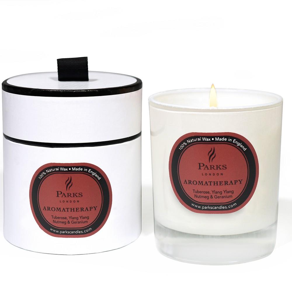 Sviečka s vôňou ylang ylang Parks Candles London Aromatherapy, 50 hodín horenia