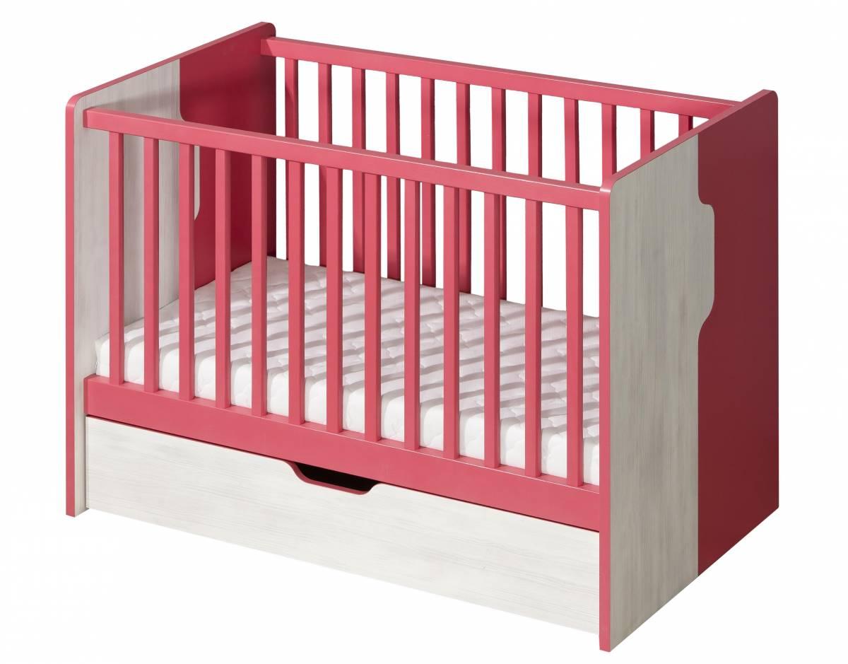 Detská posteľ NU10 (s roštom a úl. priestorom)