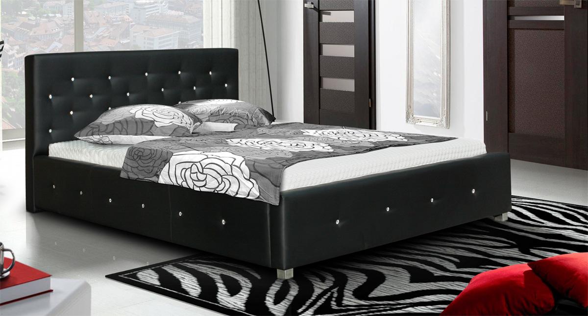 LUBICA IV manželská posteľ 160 x 200 cm, Madryt 1100