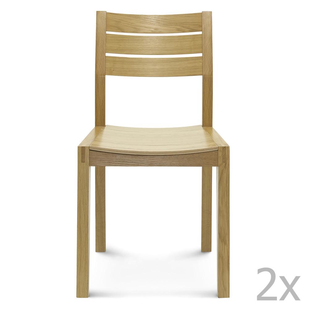 Sada 2 drevených stoličiek Fameg Kaja