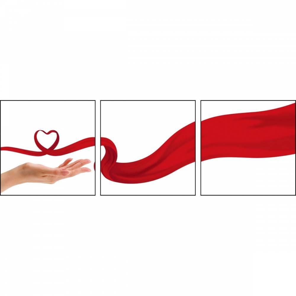 Autronic Trojdielny obraz Touch of Love, OBK009