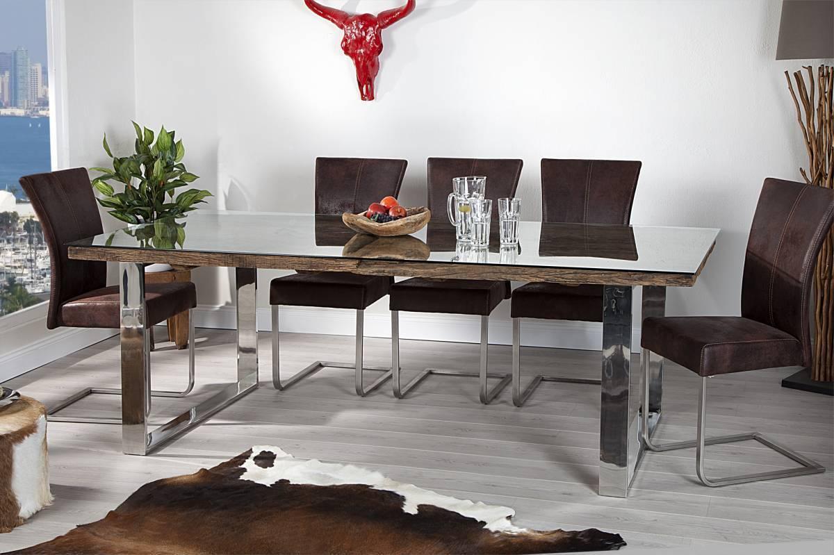 Jedálenský stôl BARAKUDA - prírodná