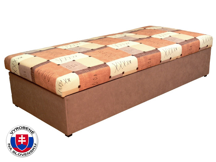 Jednolôžková posteľ (váľanda) 90 cm Palermo (so sendvičovým matracom)