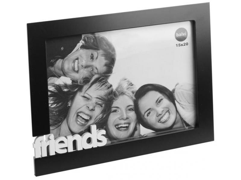 Fotorám BALVI Friends 13x18cm čierny