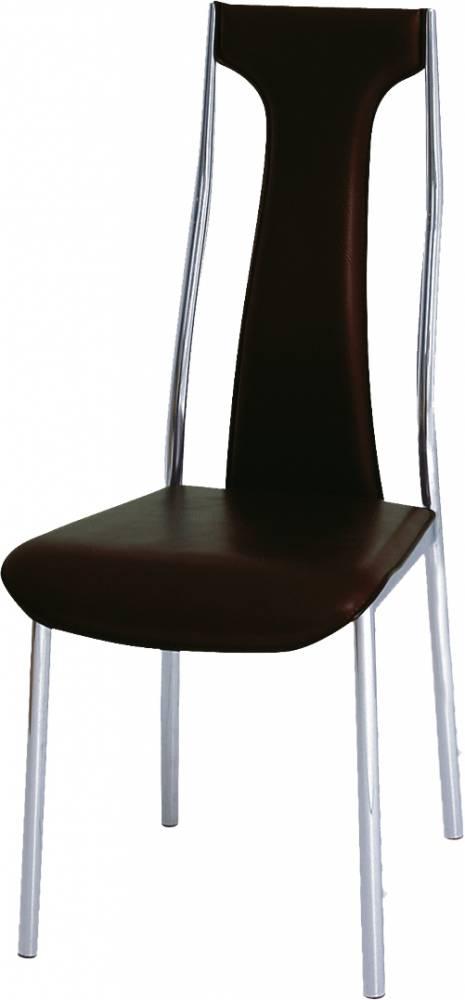 Jedálenská stolička Ria-Iris tmavohnedá