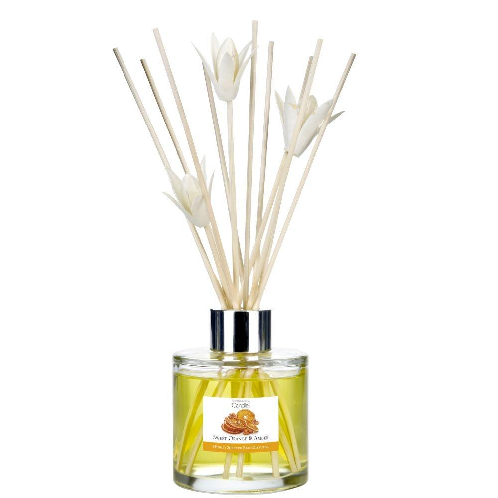 Aromatický difuzér Copenhagen Candles Sweet Orange & Amber, 100 ml