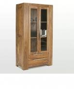 Furniture nábytok  Masívna vitrína / príborník z Palisanderu  Bahádor  100x50x190 cm