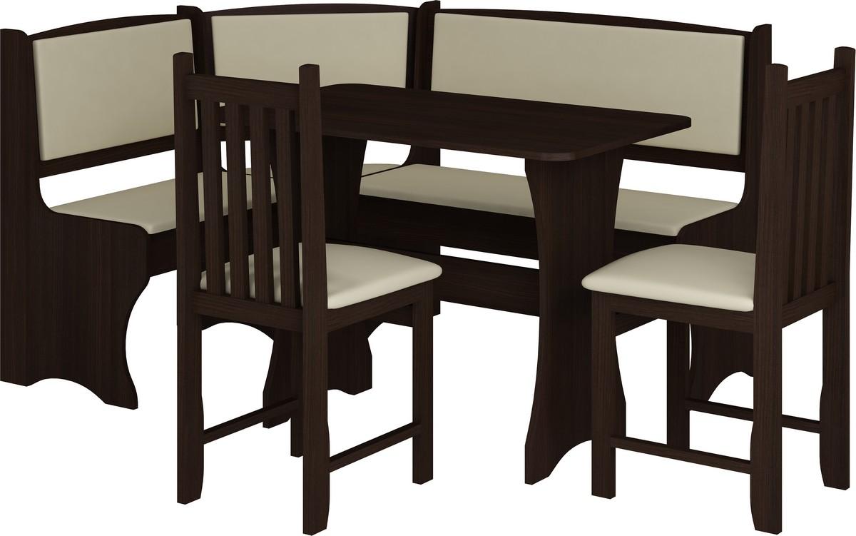 Jedálenský set B wenge (so stoličkami) (pre 5 osôb)