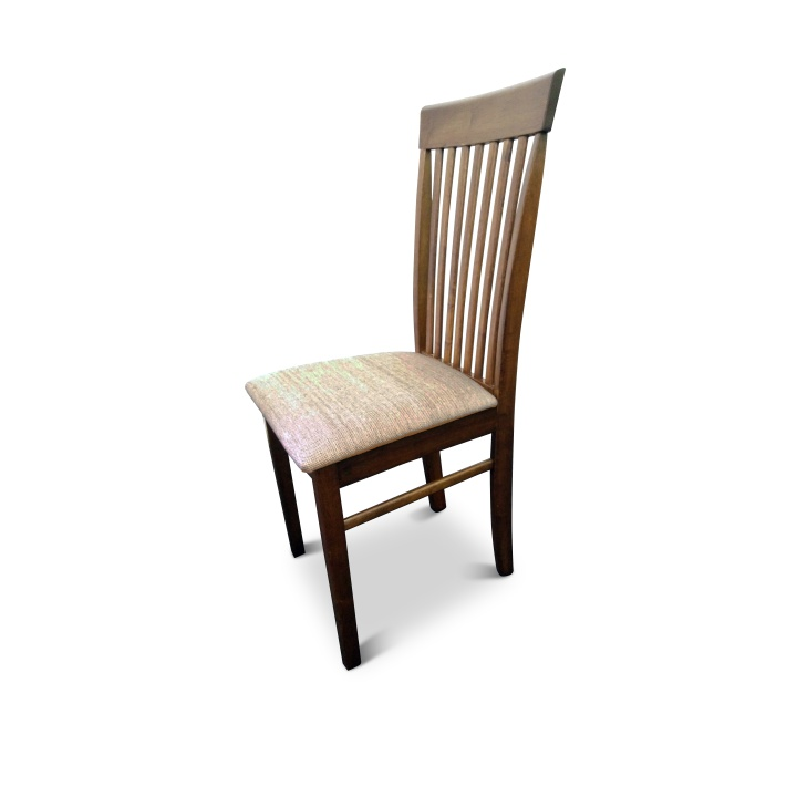 TEMPO KONDELA ASTRO jedálenská stolička - orech / svetlohnedá