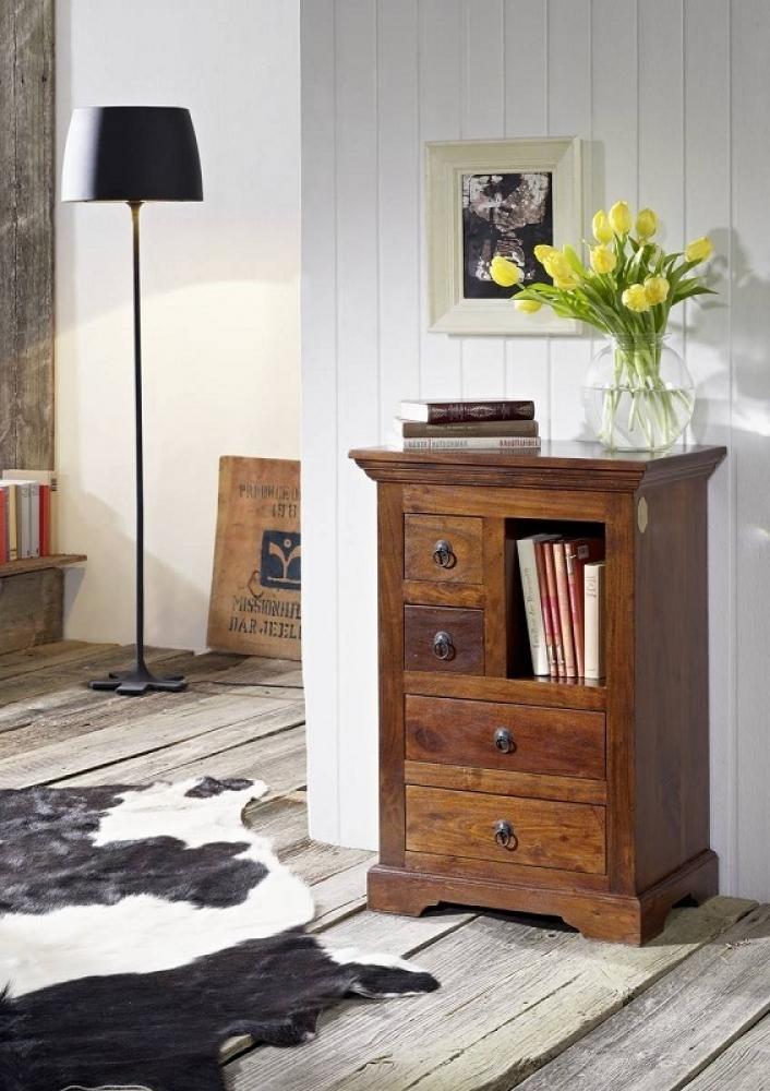 OXFORD #503 Koloniale komoda, masívny agátový nábytok
