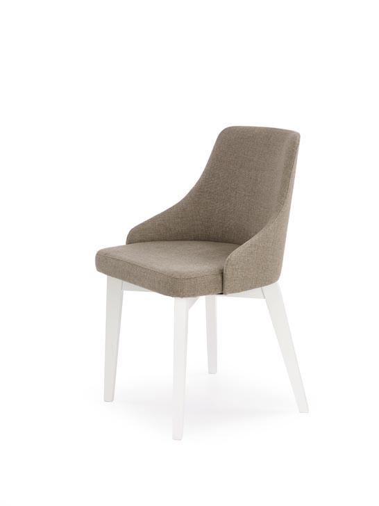 Jedálenská stolička Toledo (hnedá + biela)