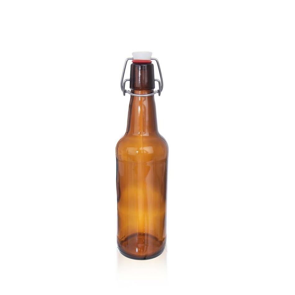 Orion Sklenená fľaša s Clip uzáverom Kulmbacher, 0,5 l