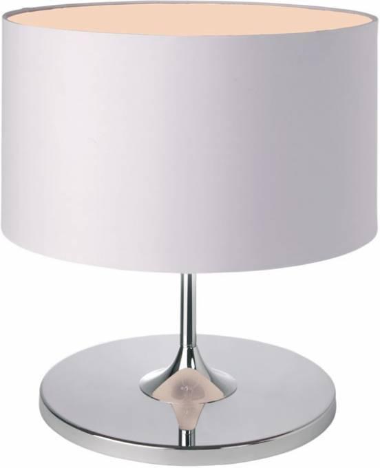 Stolná lampa ISABELLA - biela