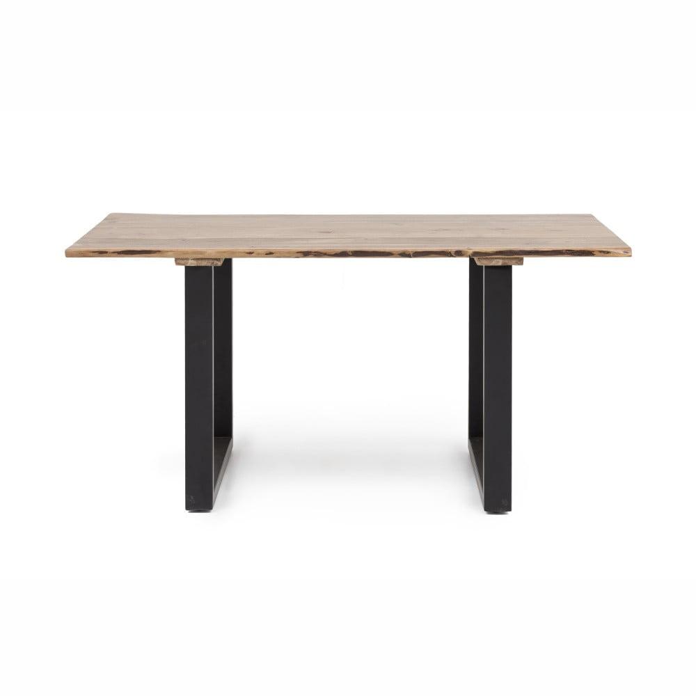 Jedálenský stôl s doskou z akáciového dreva WOOX LIVING Industrial, 160 x 60 cm