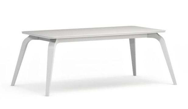Konferenčný stolík Possi LAW/120   Farba: Biela