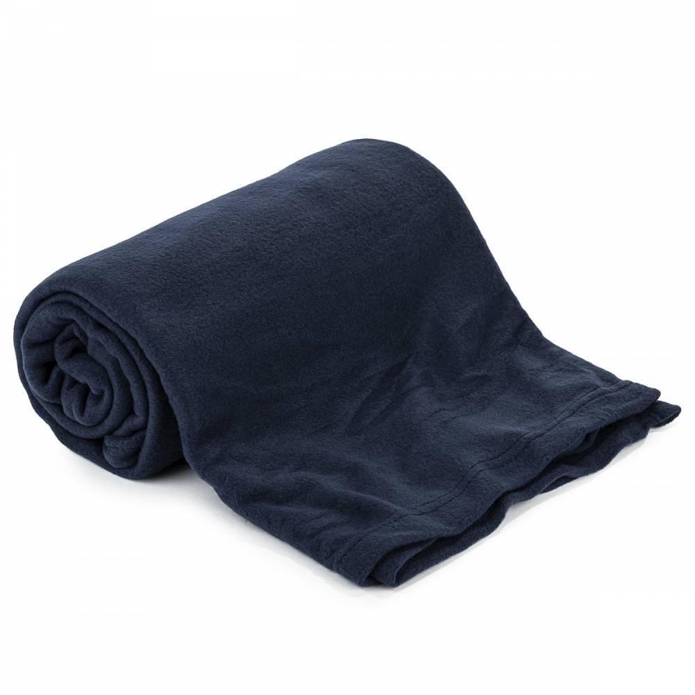 Jahu Fleecová deka UNI tmavomodrá, 150 x 200 cm