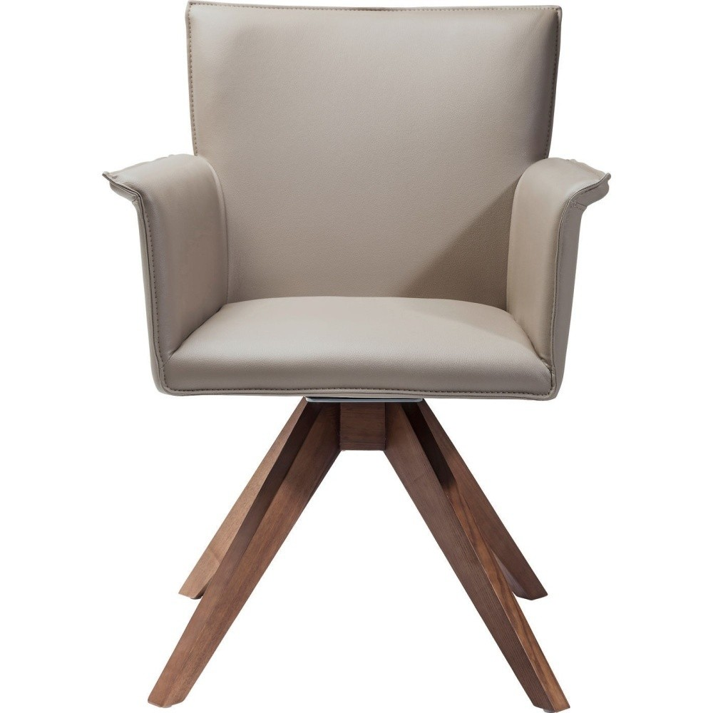 Béžová stolička Kare Design Foxy