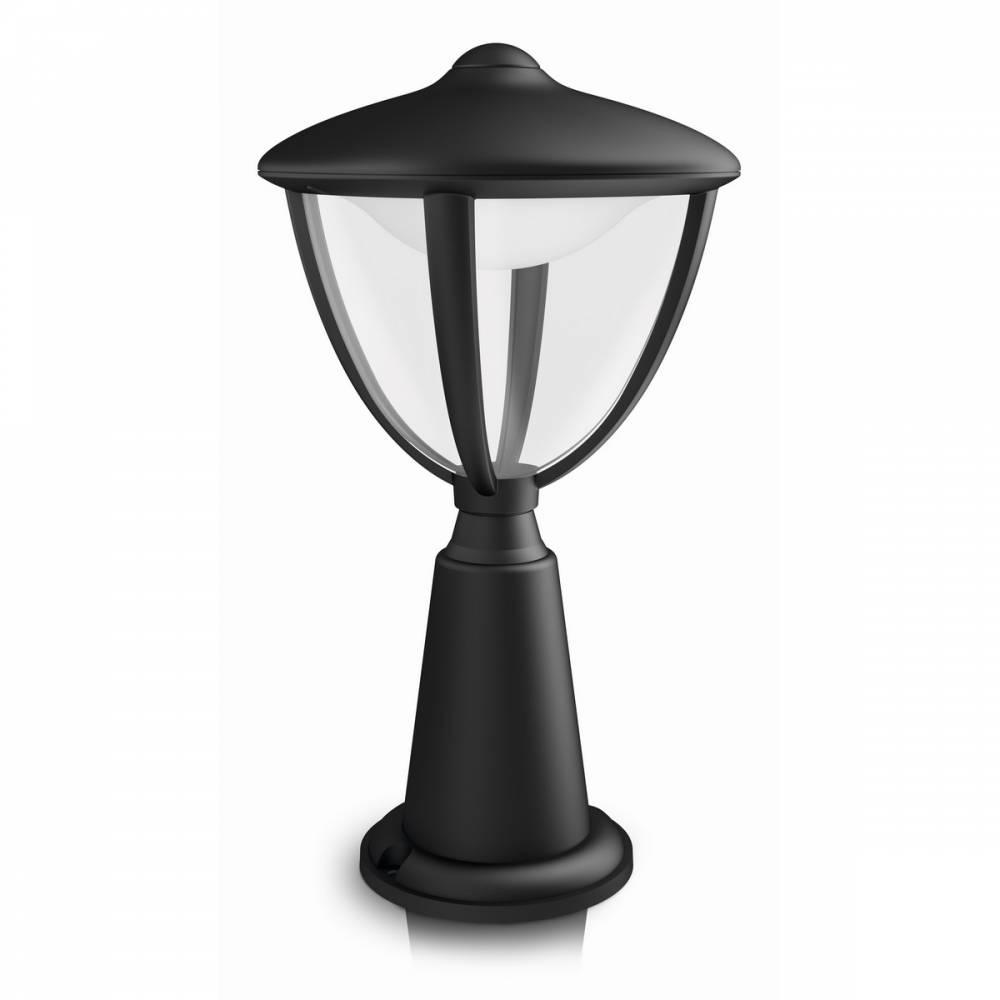 Philips 15472/30/16 Robin Vonkajšie stĺpikové LED svietidlo 33,5 cm, čierna,