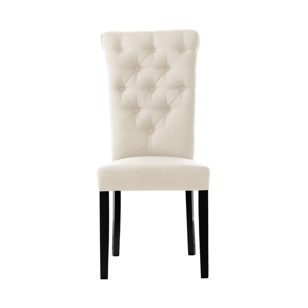 Krémová stolička L'Officiel Taylor
