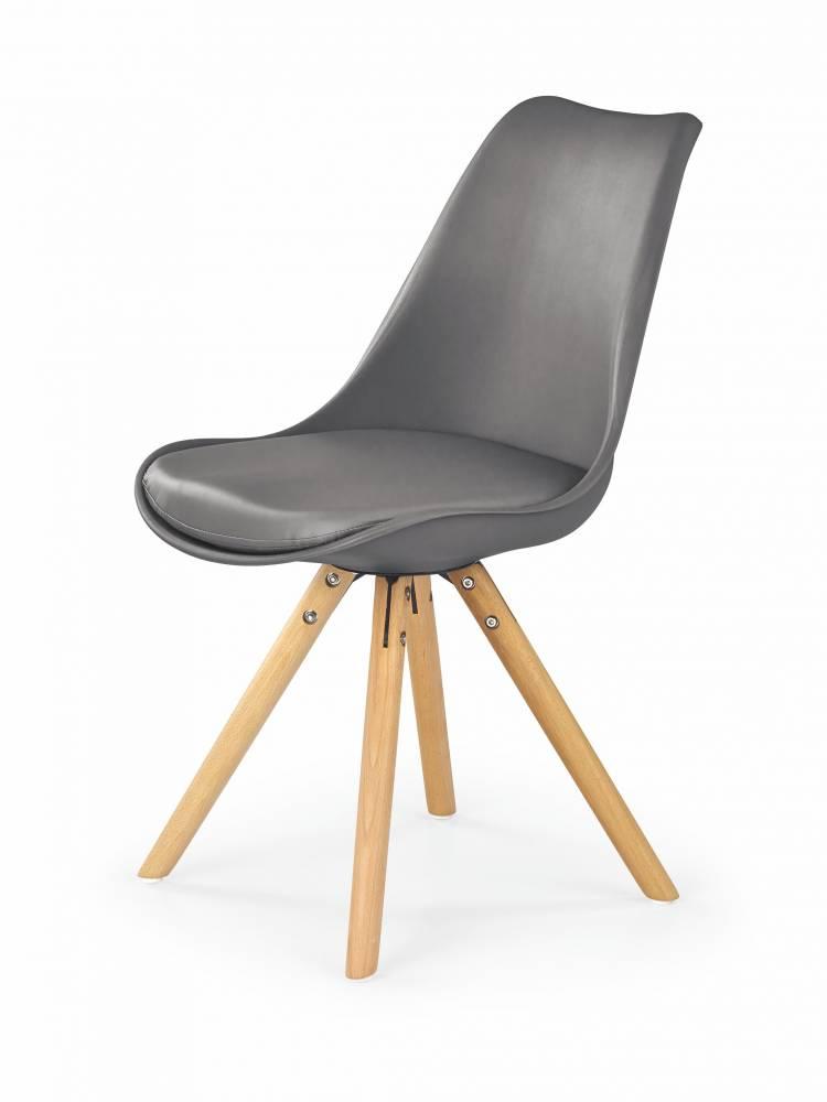 Jedálenská stolička K201 (sivá)
