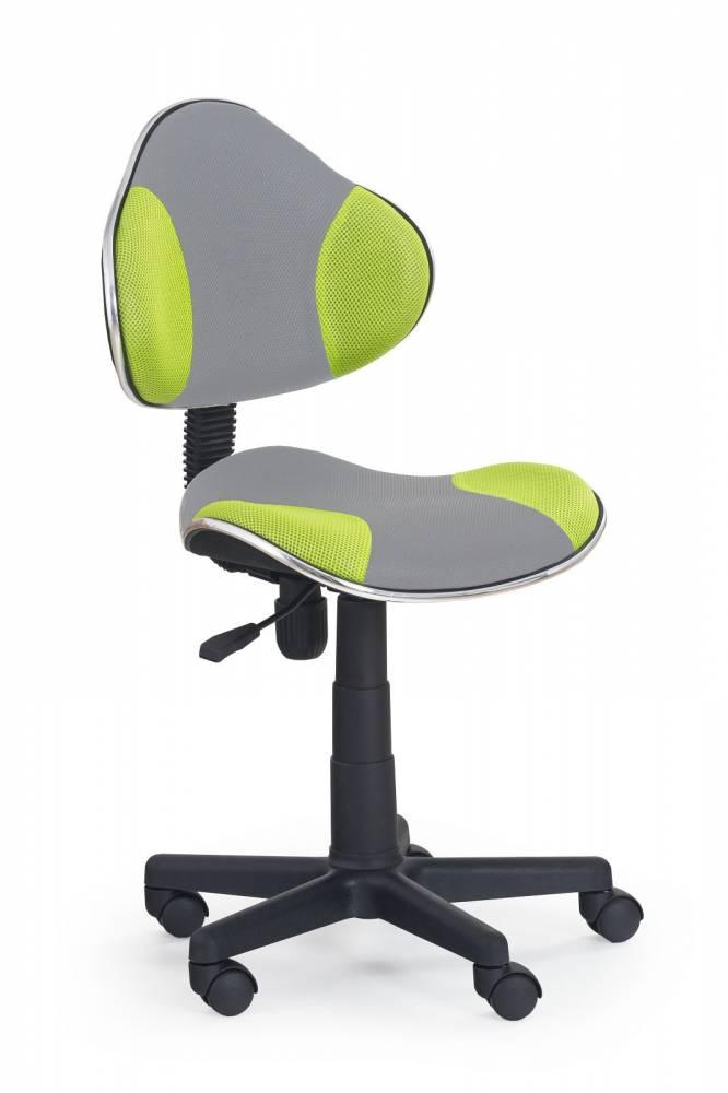Detská stolička FLASH 2 šedá + zelená