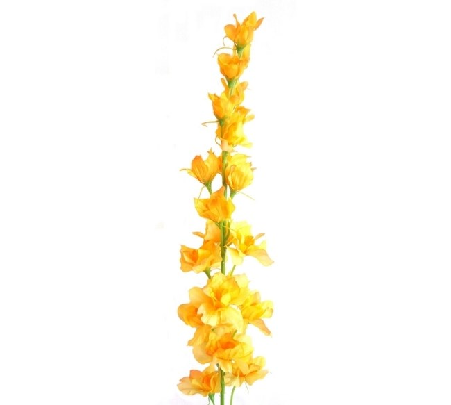 Umelá  kvetina stračonôžka, žltá