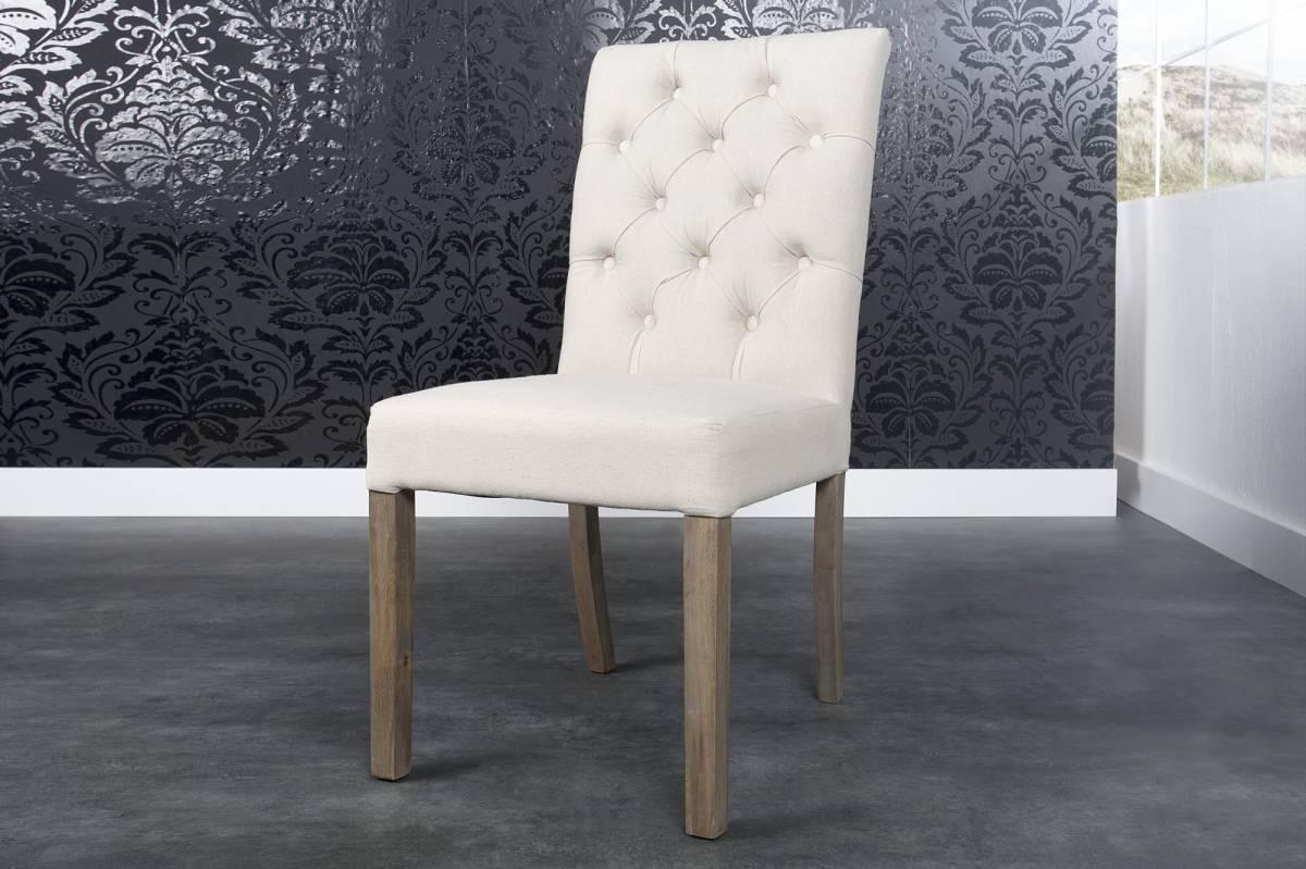 Jedálenská stolička ADISON - béžová