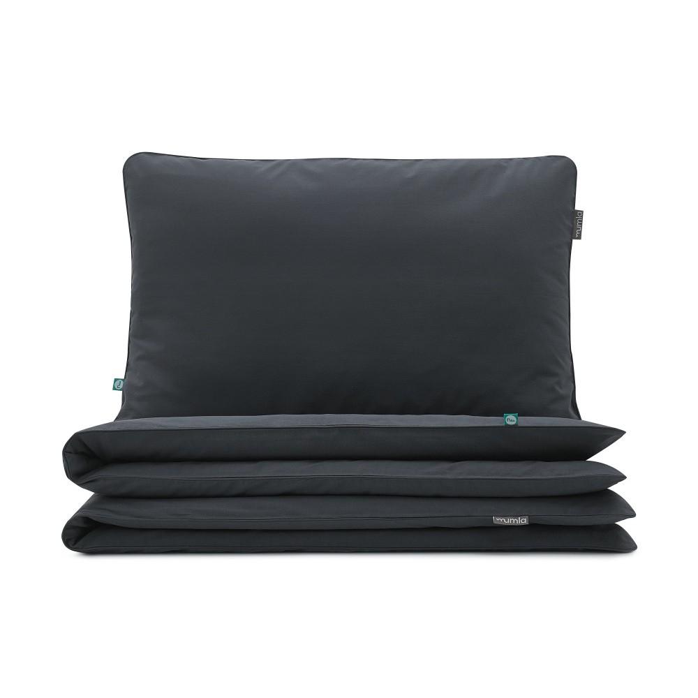 Čierne obliečky Mumla Bedding Set, 140 x 200 cm