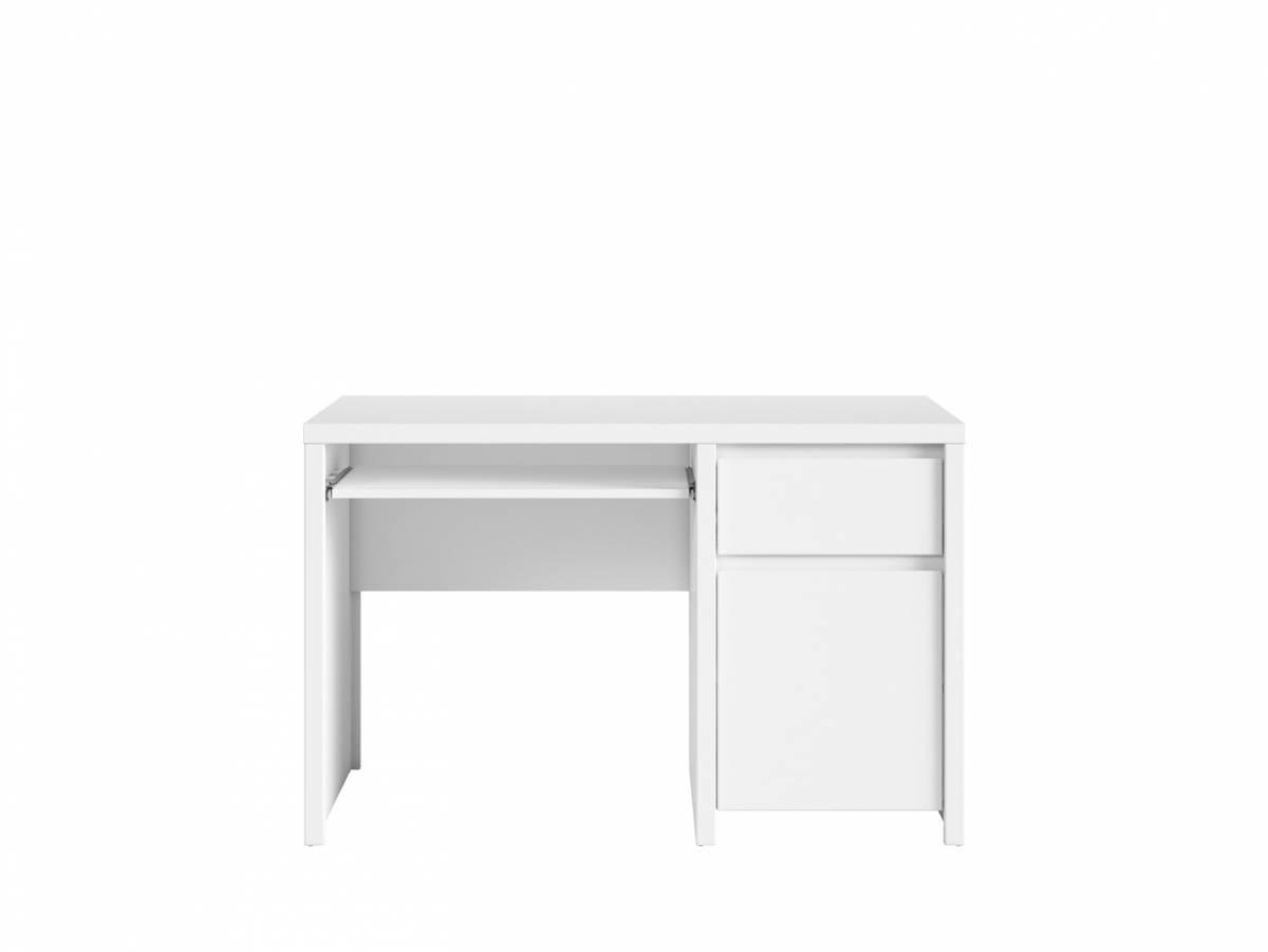 PC stolík Kaspian BIU1D1S/120 (biela + biela matná)