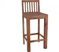 Furniture nábytok  Masiívna barová stolička z Palisanderu  Eksandar  45x45x105 cm
