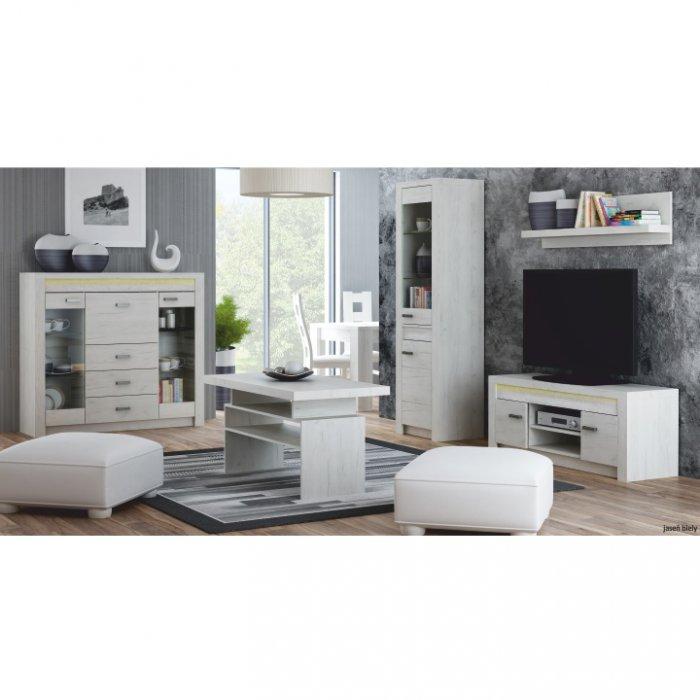 TEMPO KONDELA INFINITY obývacia izba - jaseň biely