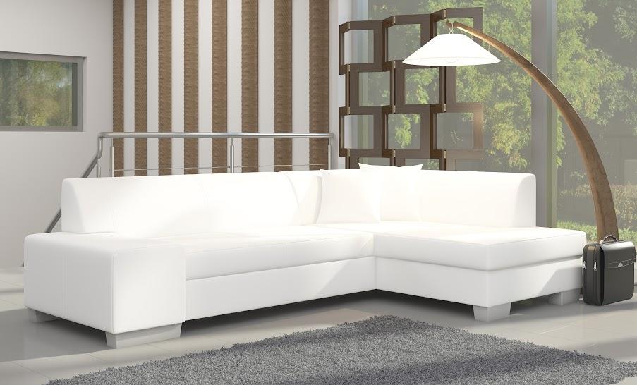 Rozkladacia rohová sedačka FABIANA Soft 17