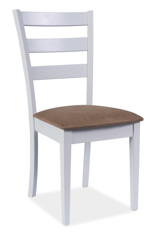 Jedálenská stolička KD-86, biela