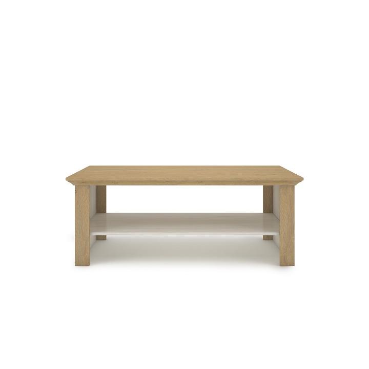 TEMPO KONDELA Konferenčný stolík, sosna nordická/dub kamenný, ARMOND TYP 14