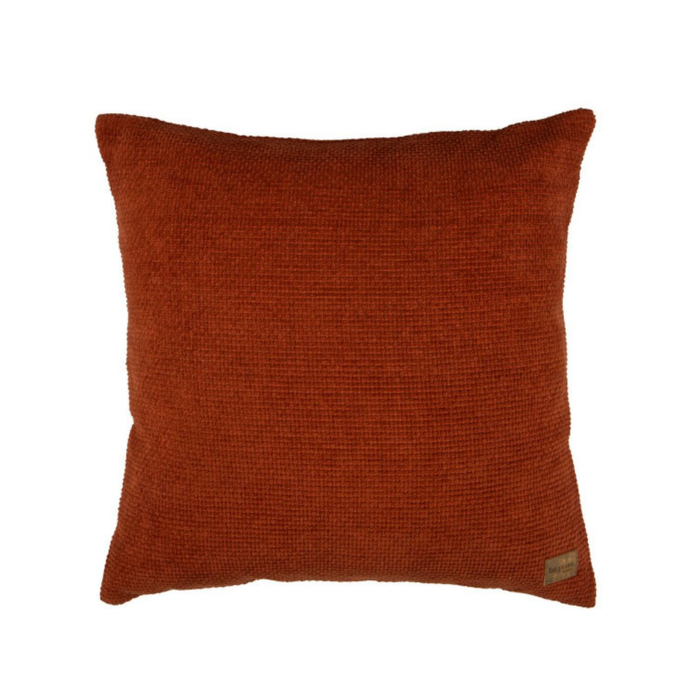 Červený bavlnený vankúš De Eekhoorn Craddle, 45×45cm