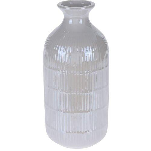 Váza Loarre biela, 10,5 x 22,5 cm
