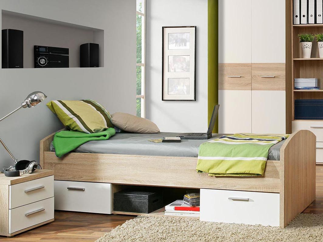 Jednolôžková posteľ 90 cm Winie WNL 09 Q36