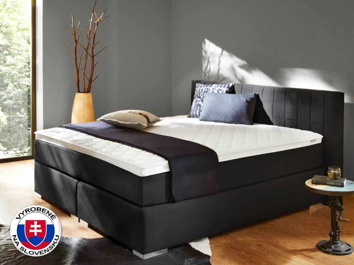 Manželská posteľ Boxspring 180 cm Comfort (s matracmi)