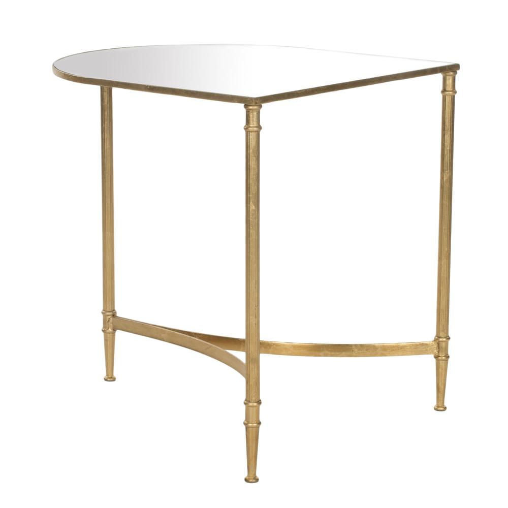 Kávový zrkadlový stolík Safavieh Nevin