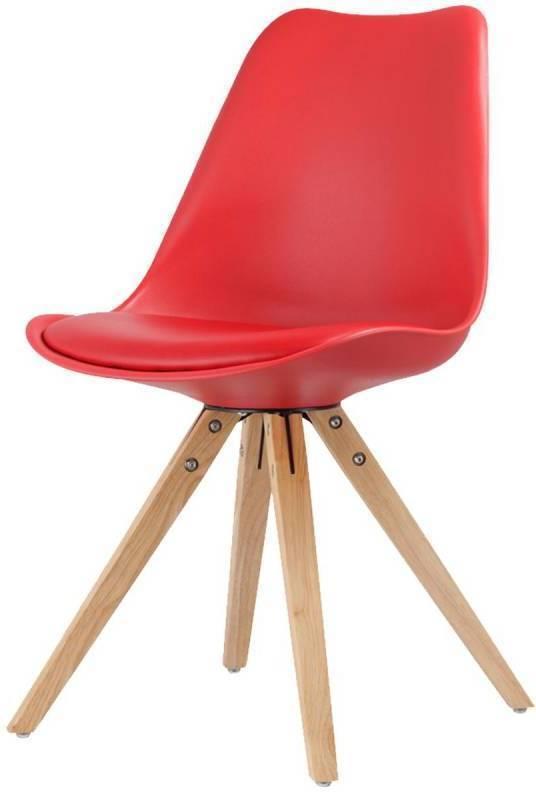Jídelní židle LADY červená