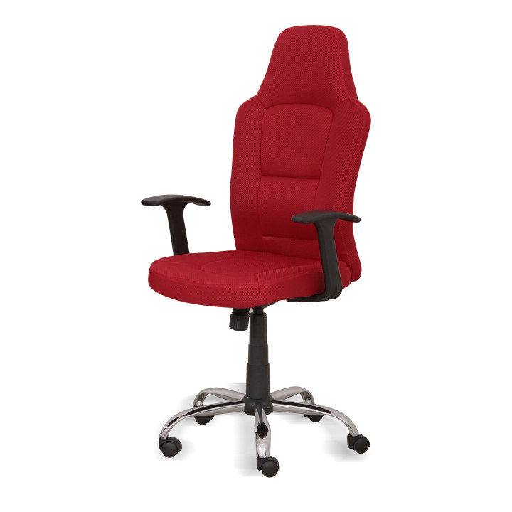 Kancelárske kreslo, červené Van
