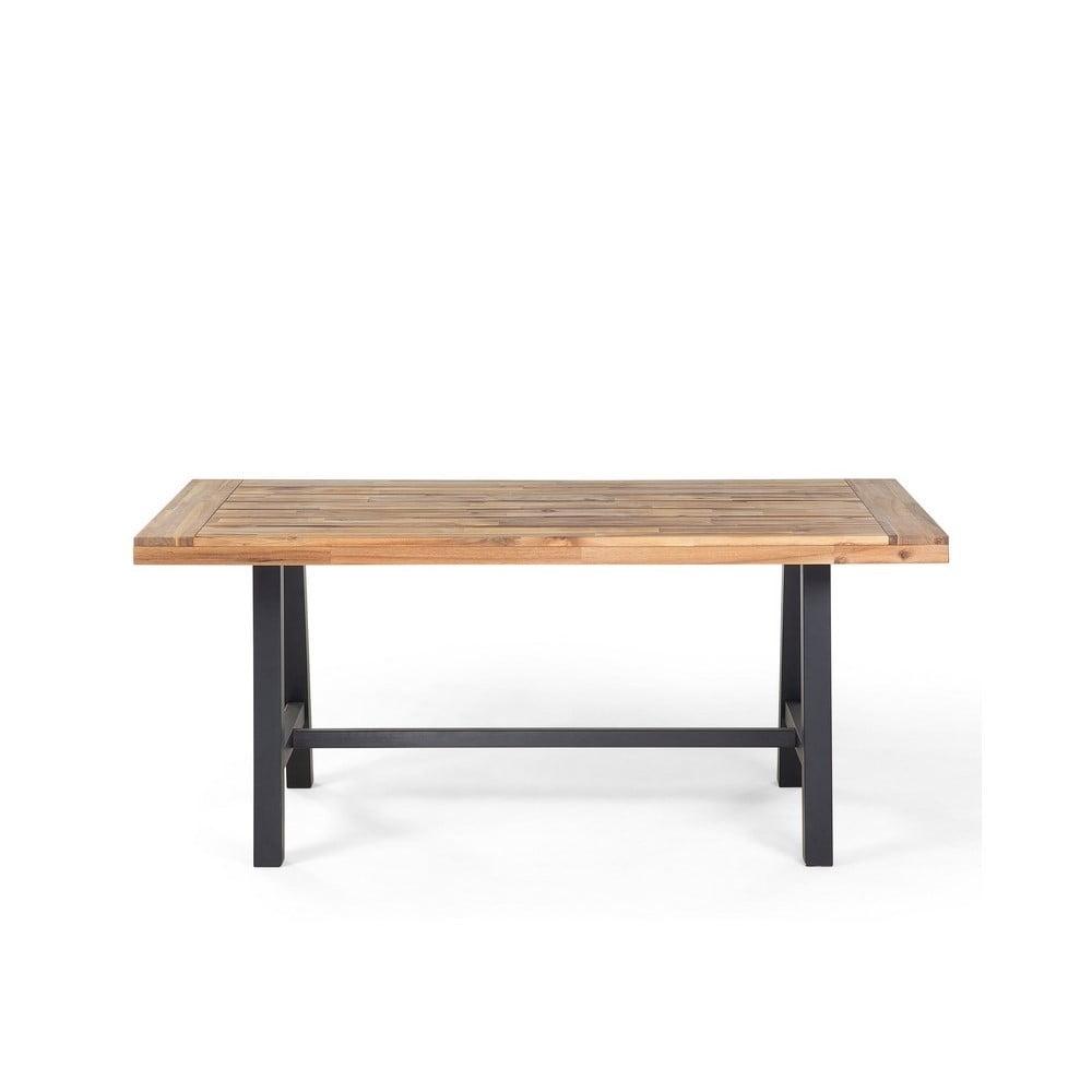 Jedálenský stôl z akáciového dreva Monobeli Thomas, 80 x 170 cm