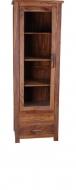 Furniture nábytok  Masívna knižnica z Palisanderu  Forúzán  64x45x190 cm