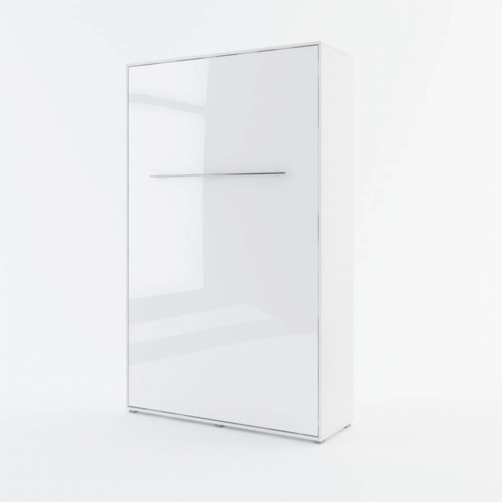 Sklápacia posteľ KOMFORT PRO CP-02, biely lesk