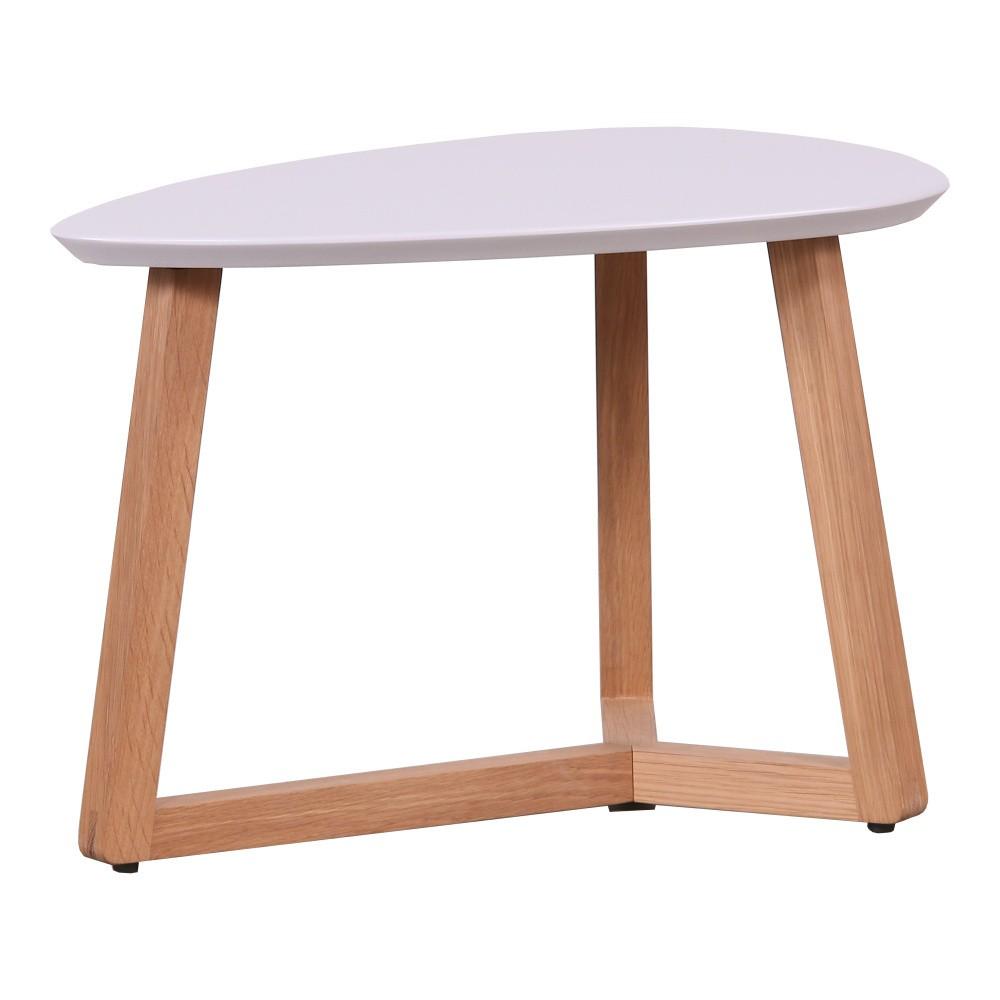 Konferenčný stolík s ružovou doskou Artemob Marina, 33×50 cm