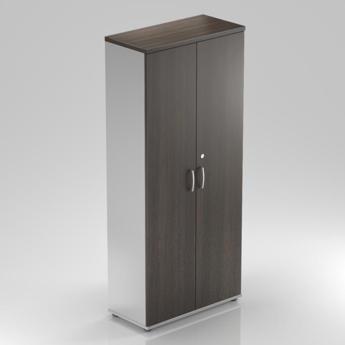Rauman Kancelárska skriňa Visio, 80x38,5x183,5 cm, dvere 5/5 S585 07
