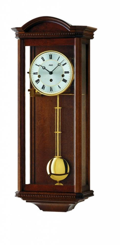 Kyvadlové mechanické nástenné hodiny 2663/1 AMS 66cm